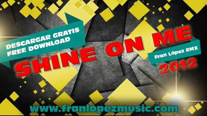 portada shine on me web
